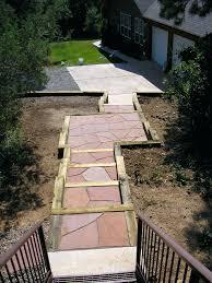 Patio Ideas Pinterest by Patio Ideas Backyard Flagstone Patio Ideas Stone Paving Walkways