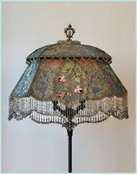 antique vintage beaded lamp beaded victorian lampshades and