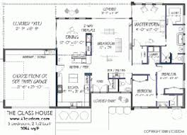 house plan blueprints stylish design 9 sims 3 modern house plans blueprint modern house