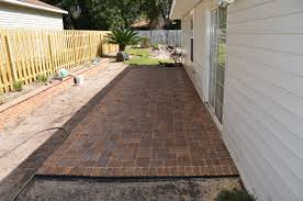 Brick Patio Pavers by Garden Exciting Pavers Home Depot For Inspiring Your Landscape