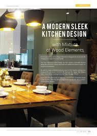Sleek Kitchen Design Meridian Interior Design And Kitchen Design In Kuala Lumpur