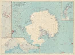 Map Of Antarctica 1932 National Geographic Map Of Antarctica U2014 Beyond The Mountains