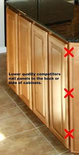 kitchen cabinet end caps kitchen cabinet end panels end panels cost effective solution to