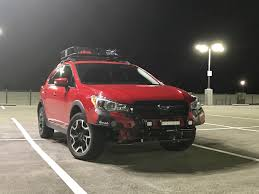 subaru crosstrek lifted project overbite u002716 subaru crosstrek build log overland
