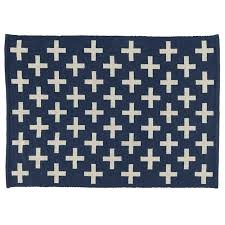 Square Outdoor Rug New 4 Square Outdoor Rug Indoor Outdoor Rug Blue The Land Of Nod 4