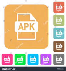 what is apk file format apk file format flat icons on stock vector 601900907