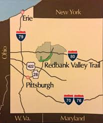 Bank Of America Locations Map by Redbank Valley Trail Association New Bethlehem Pa U2013 The Redbank