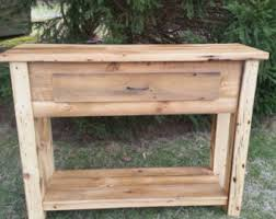 reclaimed wood rustic buffet farmhouse buffet table entryway