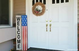 Fourth Of July Door Decorations Fourth Of July Front Door Decoration Diy Inspired