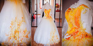 dip dye wedding dress today 30 dip dye wedding dresses trend for a colorful 2018 eddy