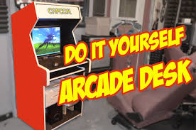 Video Game Desks by How To Diy Desk Arcade Style Youtube