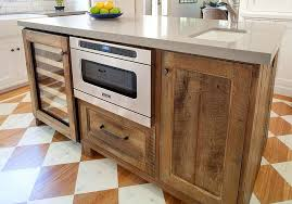 wood kitchen island 20 gorgeous ways to add reclaimed wood to your kitchen