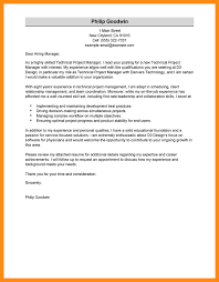 5 project management cover letter sample laredo roses