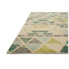 Area Rug Aqua Loloi Gemology Rug Ivory Aqua Gq 03 Contemporary Area Rugs