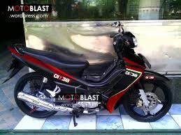 koleksi modifikasi motor jupiter mx 2014 hitam terlengkap dunia modif jupiter z hitam striping ala aprilia rsv4 motoblast jupiter z1