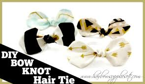 bow supplies diy fabric bow knot hair tie hairbow supplies etc