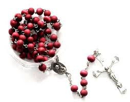 rosary from the vatican vatican holy pray rosary roses petal odor silver plated in