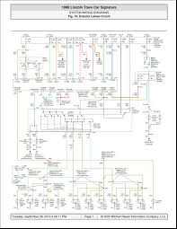 1999 lincoln town car wiring diagram 2005 lincoln town car wiring