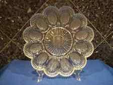 glass deviled egg platter deviled egg plates antique best plate 2018