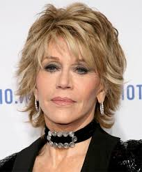 hair styles for 60year old women7 choppy look for mature fashionistas jane fonda haircut