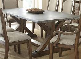 zinc top round dining table zinc topped dining table image of zinc top dining table zinc topped