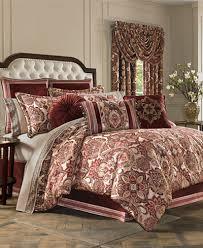 Bedding Collection Sets J New York Rosewood Burgundy Comforter Sets Bedding