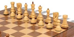 Staunton Chess Pieces by Yugoslavia Staunton Chess Set In Golden Rosewood U0026 Boxwood With