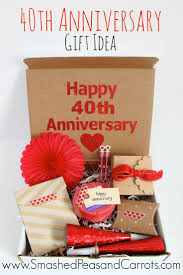 40th wedding anniversary gifts for parents 72 best anniversary gift ideas images on anniversary