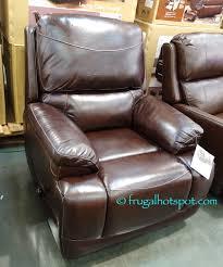 simon li leather sofa costco simon li furniture leather glider recliner costco frugal hotspot