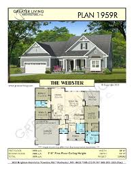 plan 1959r the webster ranch house plan greater living