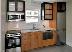 One Wall Kitchen Designs With An Island One Wall Kitchen Garage Apartment Plan Pinterest Kitchens