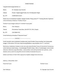 format surat kuasa jual beli rumah surat kuasa lengkap untuk berbagai keperluan seruni id