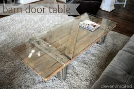 barn door side table barn door bees coffee table cleverly inspired barn door table in