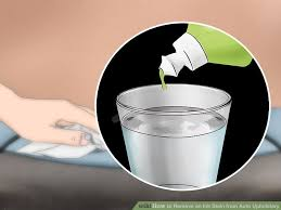 upholstery stain removal how to remove an ink stain from auto upholstery 13 steps