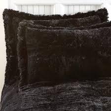 Fur Bed Set Faux Fur Comforter Set Ballkleiderat Decoration