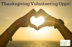 putting the giving in thanksgiving volunteer opportunities