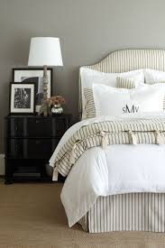 Gray Bedroom Ideas by Best 25 Striped Bedding Ideas On Pinterest Farmhouse Bed Farm