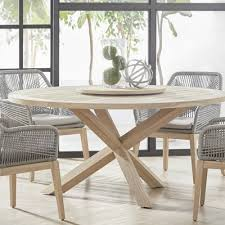 one allium way lacour reclaimed wood round dining table u0026 reviews