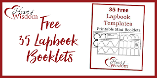 booklets templates free 35 lapbook booklet templates heart of wisdom homeschool