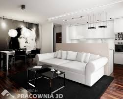 Living Room Decorating Ideas For Small Apartments by Apartment Fascinating Wall Mounted Bookshelf With Black Wool Sofa