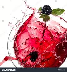 cocktail splash png red cocktail blackberry mint splash stock photo 111112187