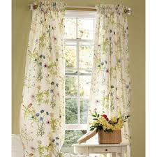 Cottage Style Curtains And Drapes Meadow Floral Curtains Floral Drapery U0026 Floral Draperies