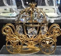 cinderella coach new disney arribas 24k gold pl spectra swarovski