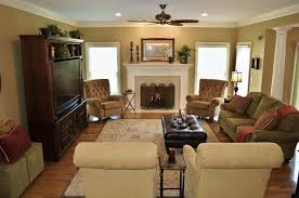 Family Room With Tuscan Flair - Tuscan family room