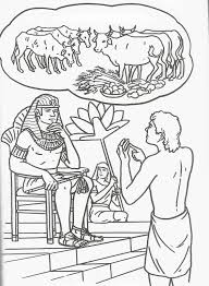 samuel coloring pages from the bible joseph u0027s dreams coloring page coloring pages pinterest