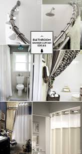 best 25 modern shower curtain rods ideas on pinterest window bathroom shower curtain ideas from space saving to decorative extras