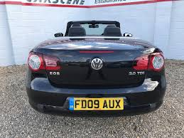 volkswagen convertible eos white used volkswagen eos for sale rac cars