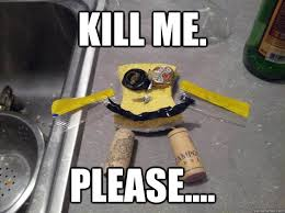 Please Kill Me Meme - kill me please poor spongebob quickmeme