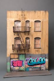Miniature by I Create Miniature Urban Landscapes Out Of Cardboard And Wood