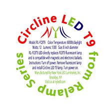9 inch circular fluorescent light bulb plug play 8 inch circline daylight t9 led bulb ballast compatible